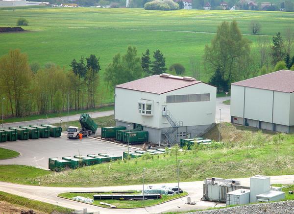 Müllumladestation Wolfsberg